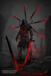 Cursed Duelist by h1fey