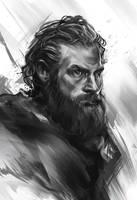 Tormund - sketch by h1fey