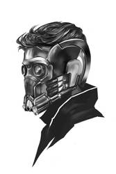 22/365 - starlord by h1fey