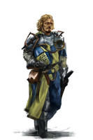 43/365 - knight by h1fey