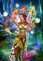 Elementalist - commission by h1fey