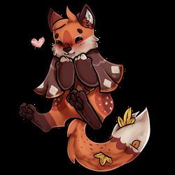 Midveiler of the Month: Autumn Fox Cake by tanukyle