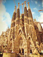 Sagrada Familia by 0wdr3y