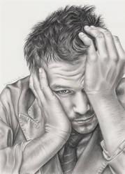 Heath Ledger by elvenart24