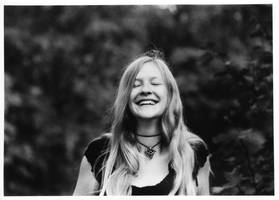 Tereza in park III. - laughing by oliverman