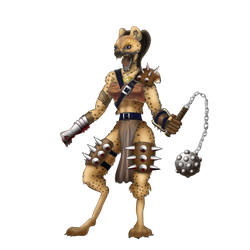 Gnoll by NomDeCheval