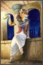 Saqqara, the Blue Jewel by olvice