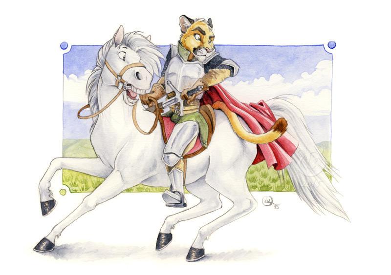 Brave knight by olvice