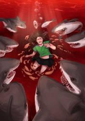 Warning - Ugly Sharks by Kilgol
