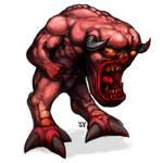 Doom Pinky Demon by bossquibble