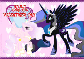 MLP: Valentine Wallpaper by KPenDragon