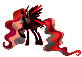 MLP: Blood Moon Lunaria by KPenDragon