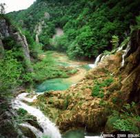 Plitvice Lakes V 2015. 10 by ivoturk