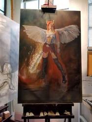 wip Lucifer faestock by caesaraugustus