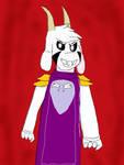 Asriel Dreemurr! by Foxy05426