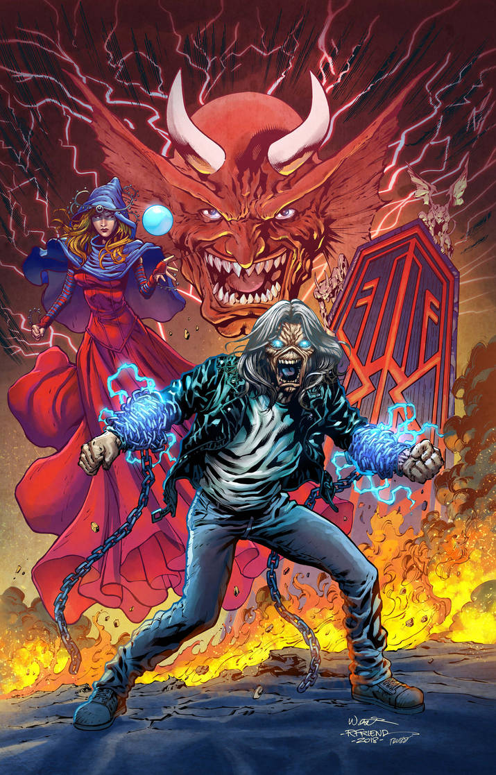 TPB Cover Iron Maiden Legacy of the Beast by Trucas