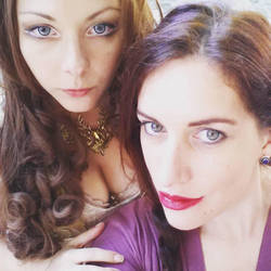 Margaery Tyrell And Melisandre Cosplay by CircusOnMegiddo
