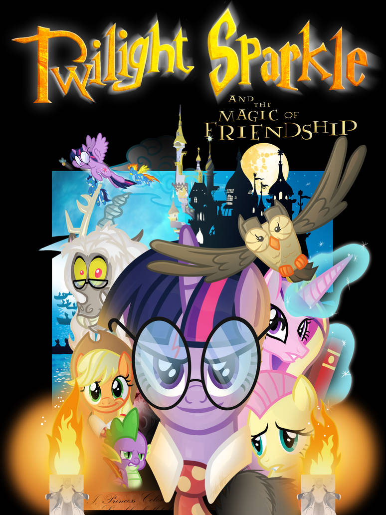My Little Pony Harry Potter 1 Poster By Knadire On Deviantart