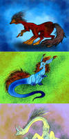 Adoptables 5 Points Each (2) by LivingAliveCreator