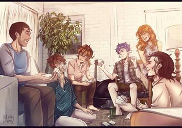 TCM: Cast Party by LivingAliveCreator