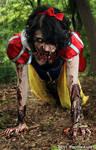 Zombie Snow White. by BrytPhotography