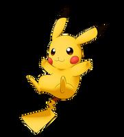 Pikachu by LunarThunderStorm