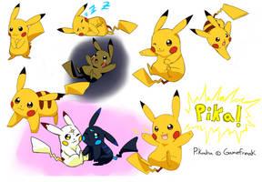 Pikachu! by LunarThunderStorm