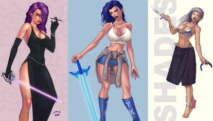 The Babes Of Blades by Woo-Plays