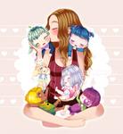 OC: Me and my kids by bian-ks