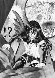 Dark plans of Dark Fairy by IgaAori