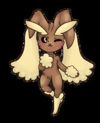 Bunny Lady by Cosmic-Eevee