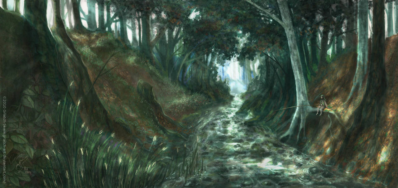 The river tunnel by Griatch-art