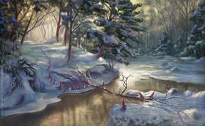 Vaettebron - Christmas Card 2011 by Griatch-art