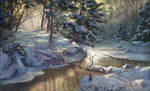 Vaettebron - Christmas Card 2011 by Griatch-art