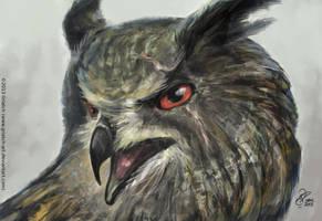 Hardcase Owl by Griatch-art
