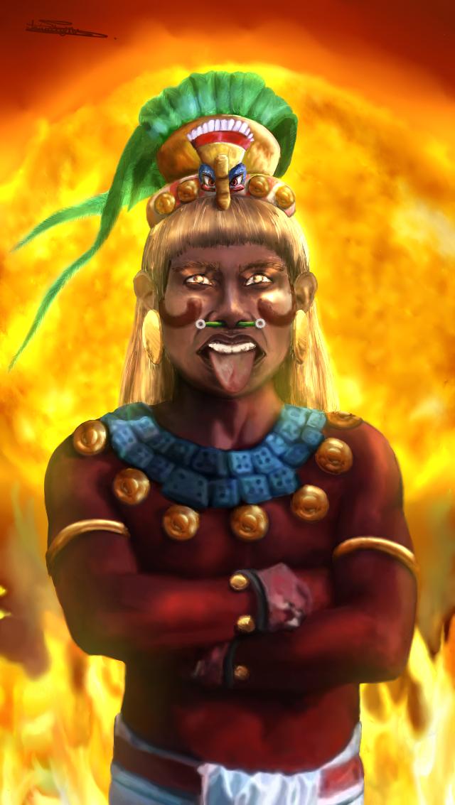 Legend of the 5th Sun by Mytforskare