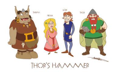 Thor's Hammer by Mytforskare