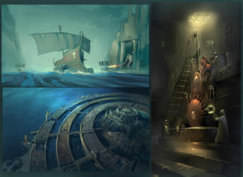 Shadows Of Atlantis by DimMartin