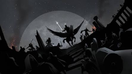 Pegasus by DimMartin