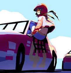 Daytona Lets Go Away by WyntonRed