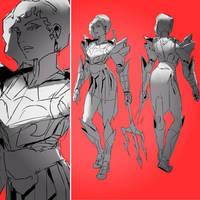 Trident lines by WyntonRed