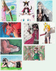 ATCs for David by Little-Shinikami