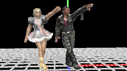 Dance Evilution : Man Char by nampukkkk