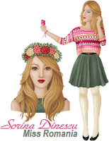 MDE 2014 - Miss Romania - Rd 1 by slightly-caustic