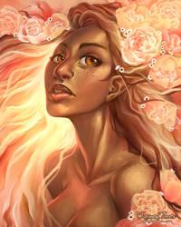 Spring Goddess by artofcarmen