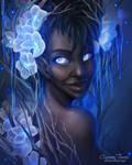 Winter Goddess by artofcarmen