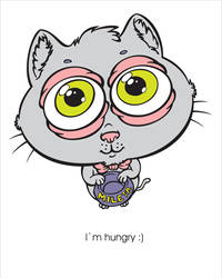 Hungry Cat by bicapop