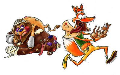 A wise fox by bicapop