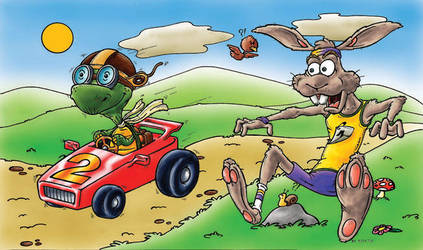 tortoise and the hare by bicapop