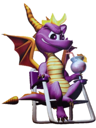 Spyro 2: Ripto's Rage - Relaxing Vacation by PaperBandicoot
